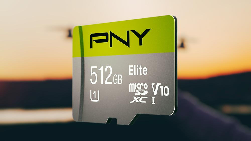 512GB PNY Elite microSDXC Card