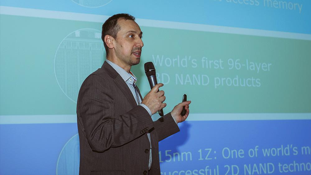 Чатай Килик, менеджер по развитию бизнеса Western Digital в странах Европы, Ближнего Востока и Африки