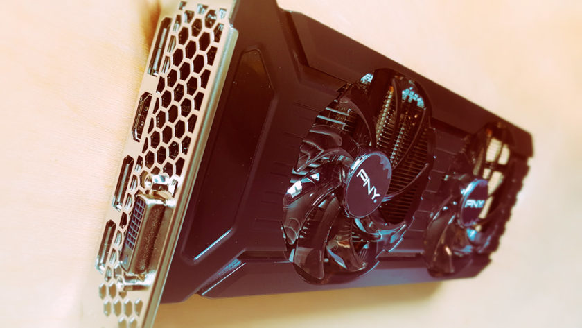 PNY GeForce GTX 1060 6GB GDDR5 Twin Fan