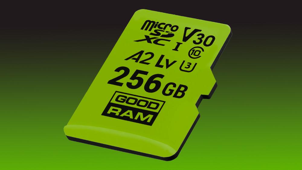 GOODRAM M1AA A2 microSD 256GB