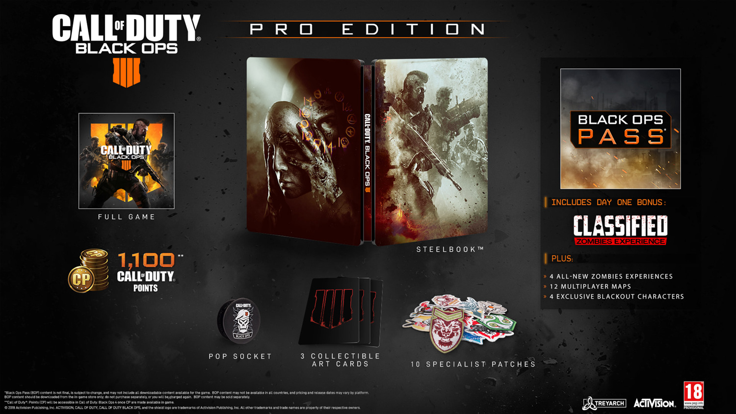 Call of Duty: Black Ops 4 – Pro Edition