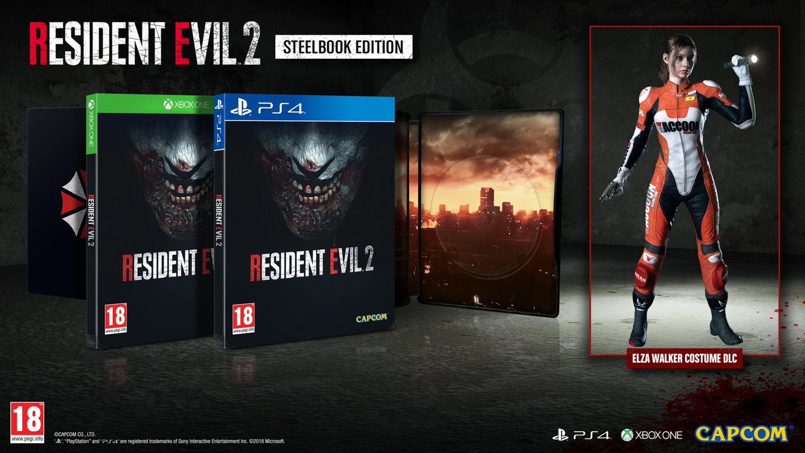 Resident Evil 2 Remake: Steelbook Edition