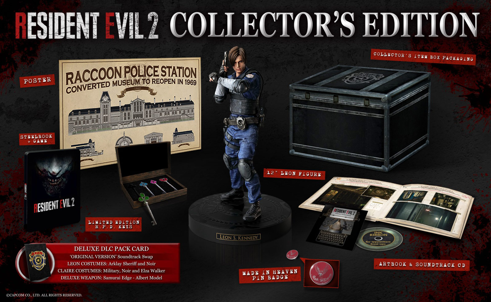 Resident Evil 2 Remake: Collector's Edition