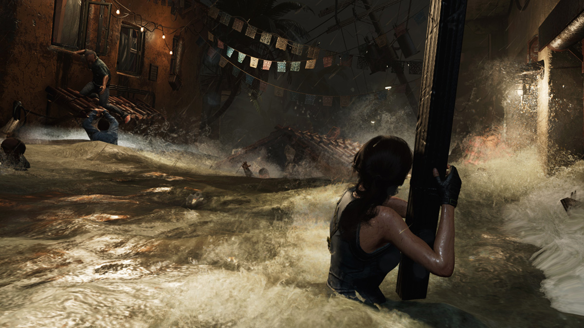 Цунами в Shadow of the Tomb Raider