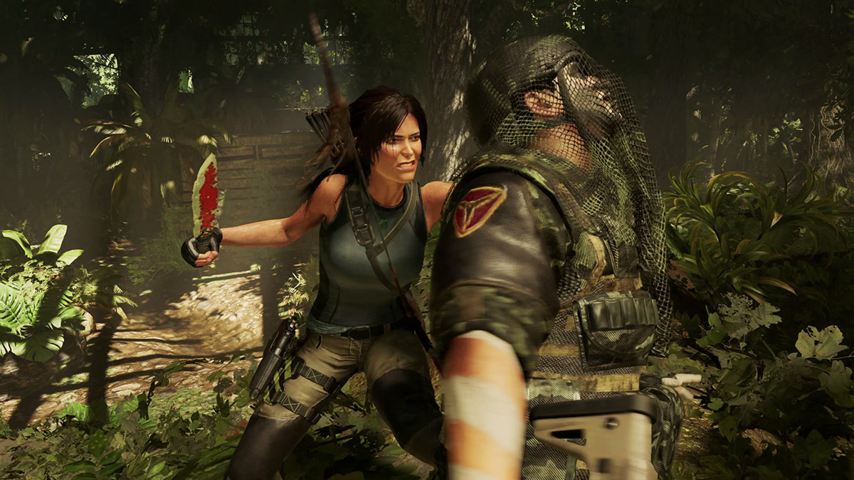 Оружие в Shadow of the Tomb Raider
