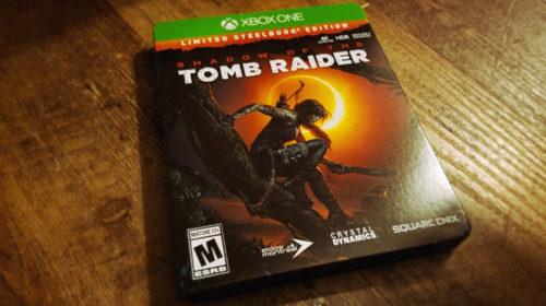 Коллекционное издание Shadow of the Tomb Raider - LimitedSteelbook Edition