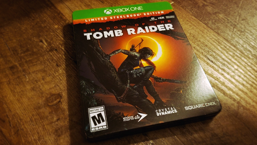 Коллекционное издание Shadow of the Tomb Raider - Limited Steelbook Edition