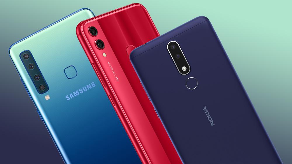 Топ-8 новых смартфонов второй недели октября 2018 года