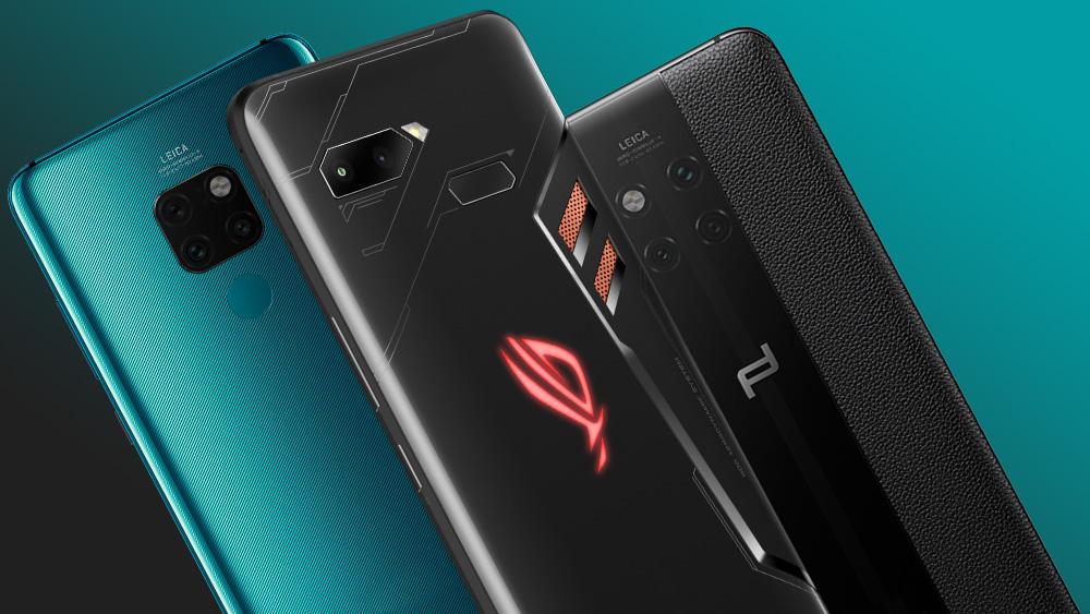 Топ-5 новых смартфонов третьей недели октября 2018 года