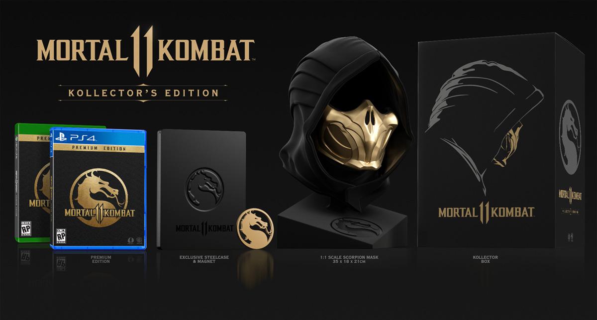 Mortal Kombat 11: коллекционное издание