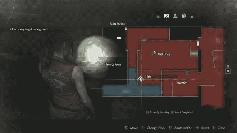 Resident Evil 2: первый сейф