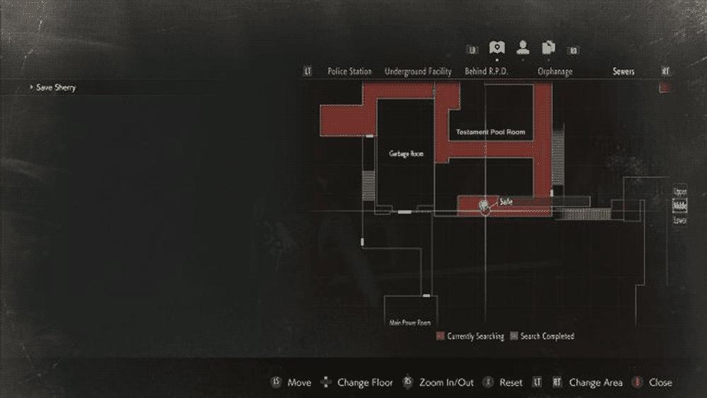 Resident Evil 2: третий сейф