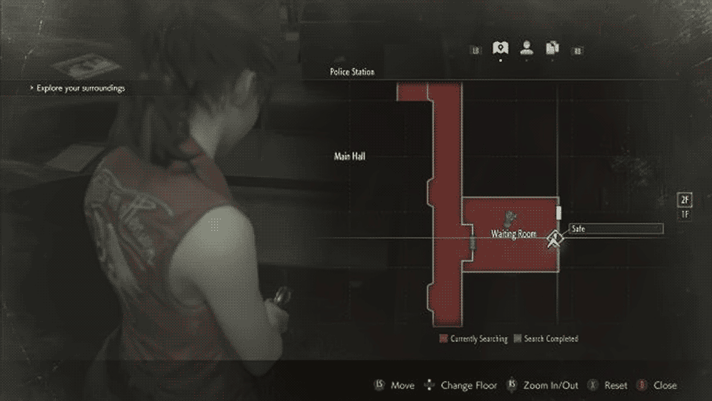 Resident Evil 2: второй сейф