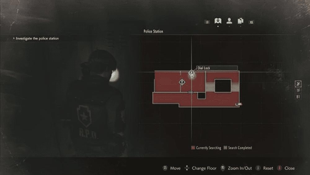 Resident Evil 2: первый шкаф