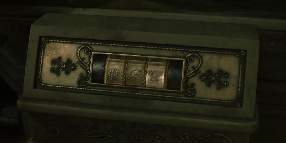 Resident Evil 2: комбинация для статуи Льва