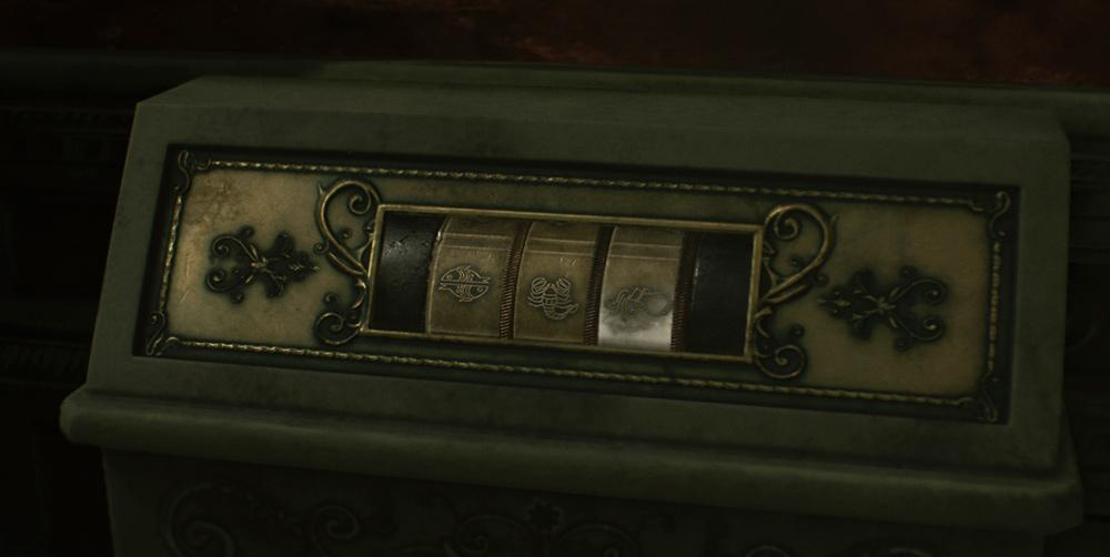 Resident Evil 2: комбинация для статуи Единорога