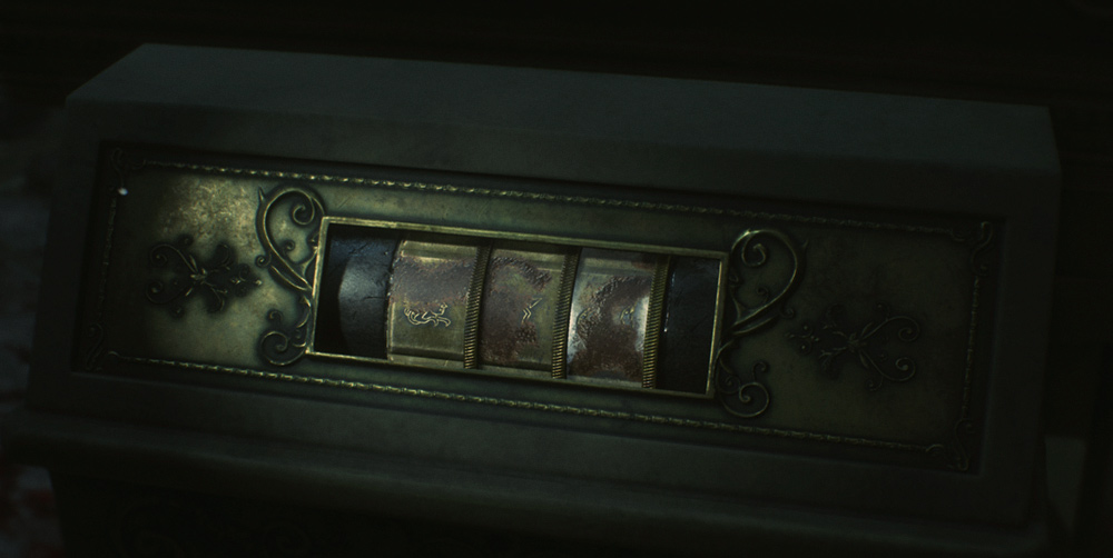 Resident Evil 2: комбинация для статуи Девы