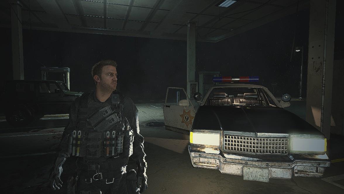 Resident Evil 2 Remake: Крис Редфилд