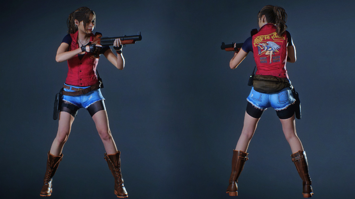 Claire Redfield Darkside Costume