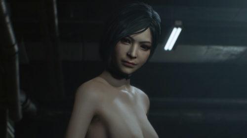 Resident Evil 2: обнаженная Ада Вонг