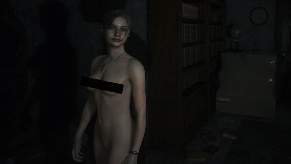 Resident Evil 2: обнаженная Клэр Редфилд