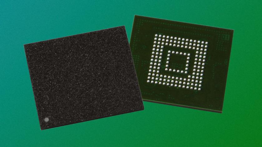 Toshiba 3D TLC NAND (BiCS) UFS 3.0