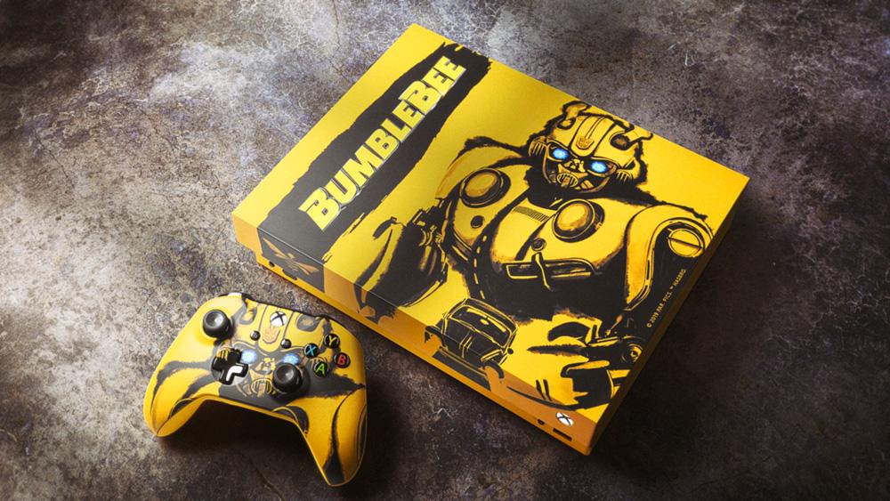 Bumblebee Xbox One X