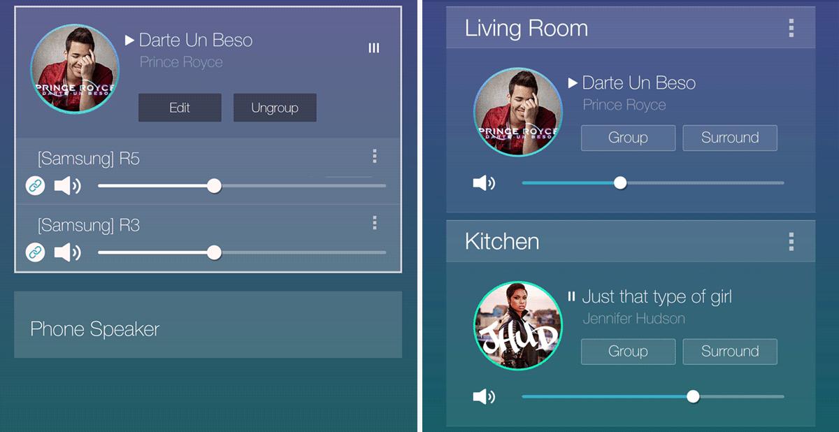 Samsung Multiroom App
