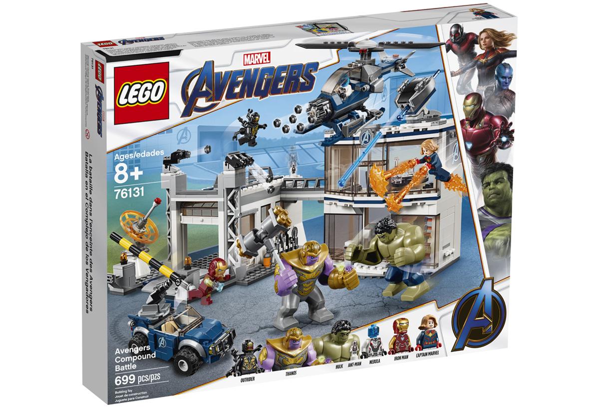 Набор LEGO 76131: Битва на базе Мстителей