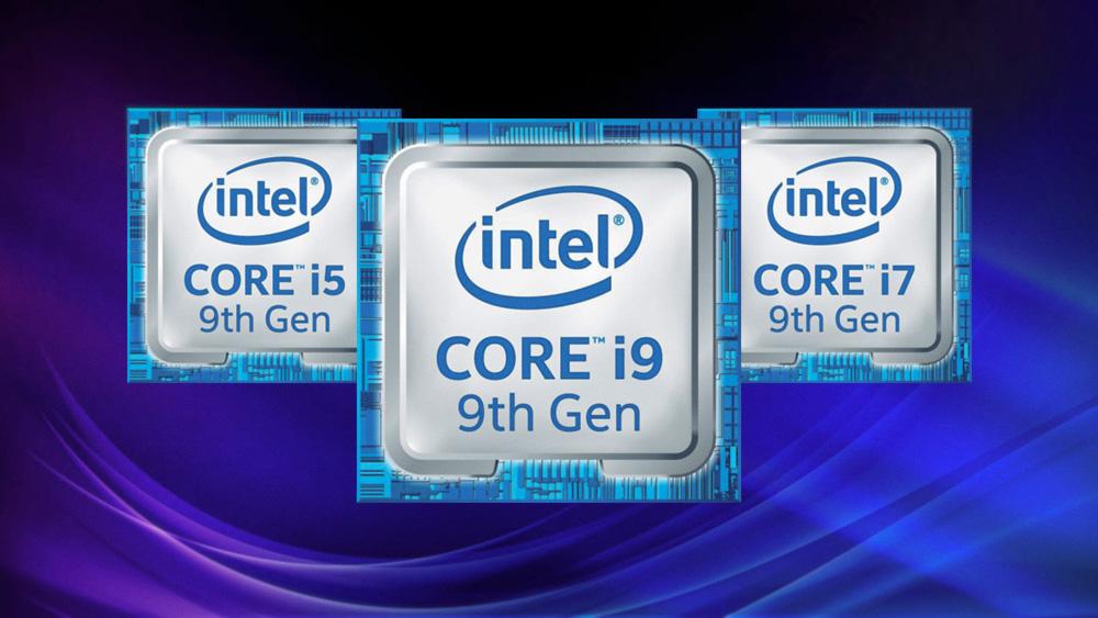 Мобильные процессоры Intel 9-го поколения