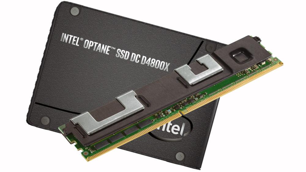 Intel Optane DC D4800X и Intel Optane DC Persistent Memory