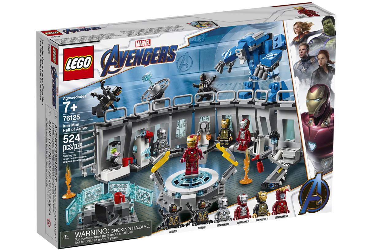 Набор LEGO 76125: Лаборатория Железного Человека