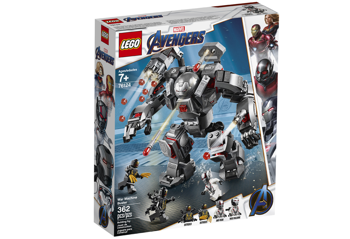 Набор LEGO 76124: Воитель