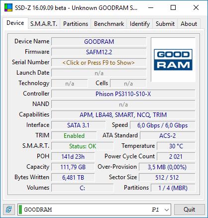 SSD-Z Goodram