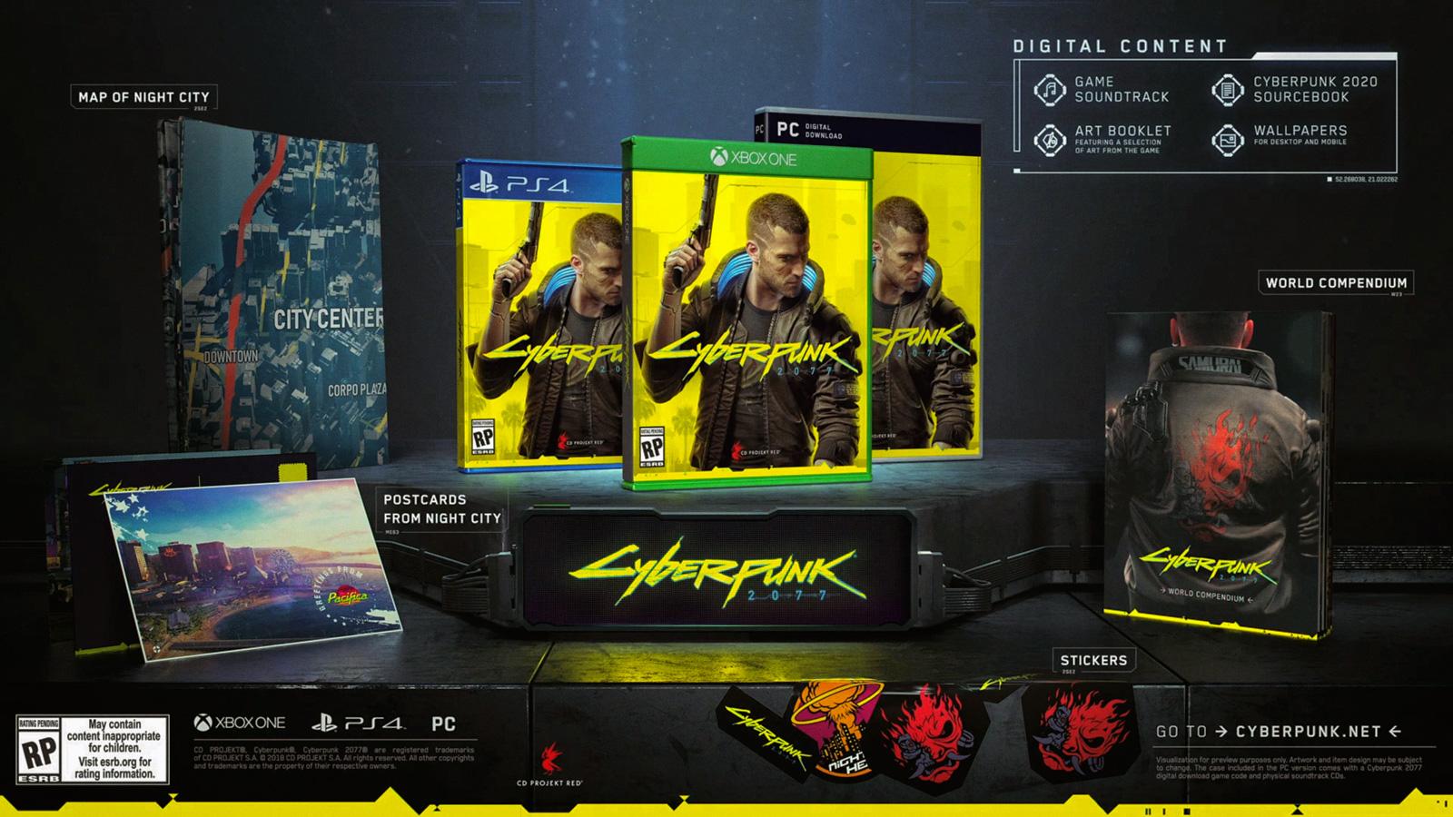 Cyberpunk 2077: стандартное издание