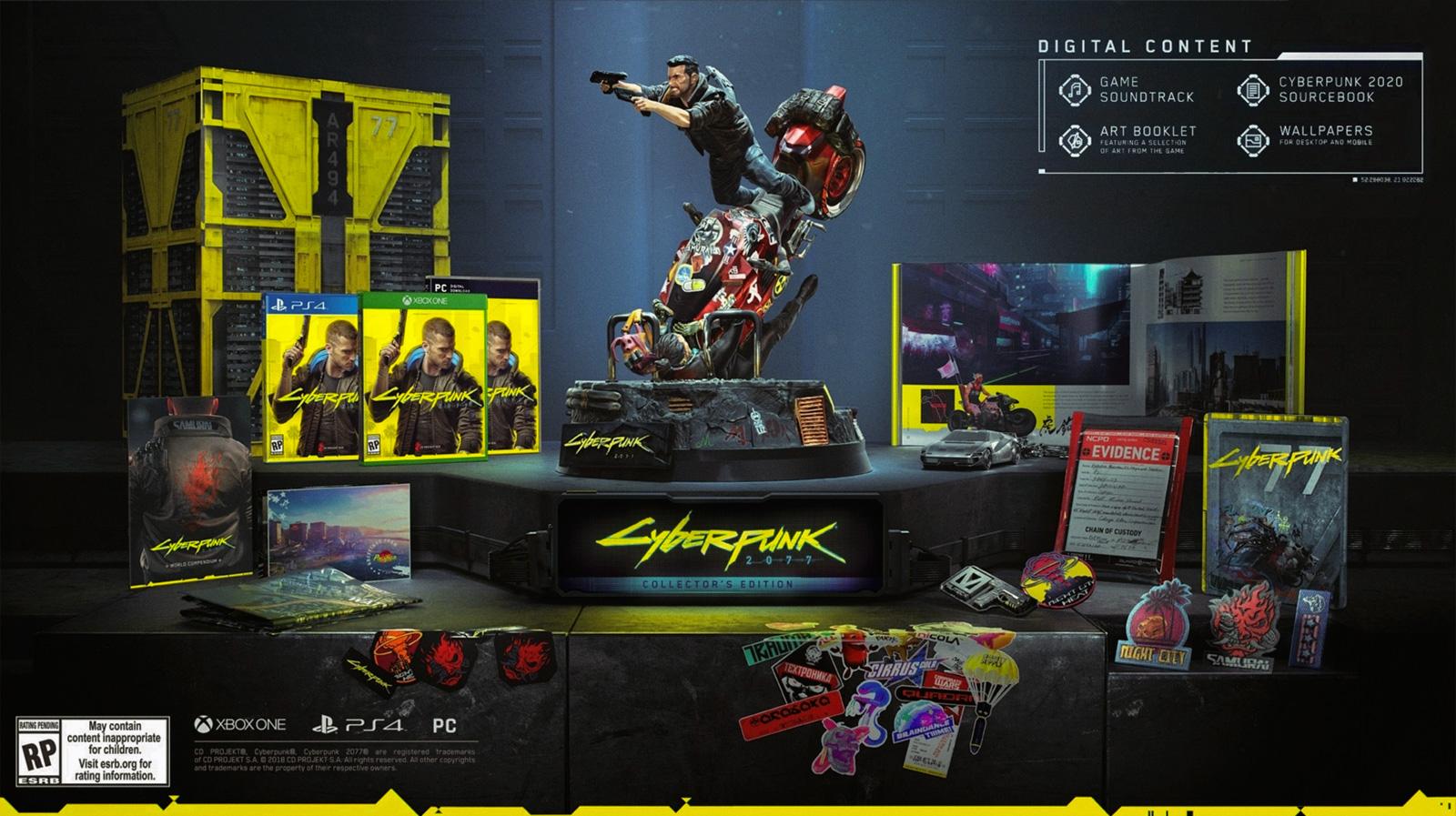 Cyberpunk 2077: коллекционное издание