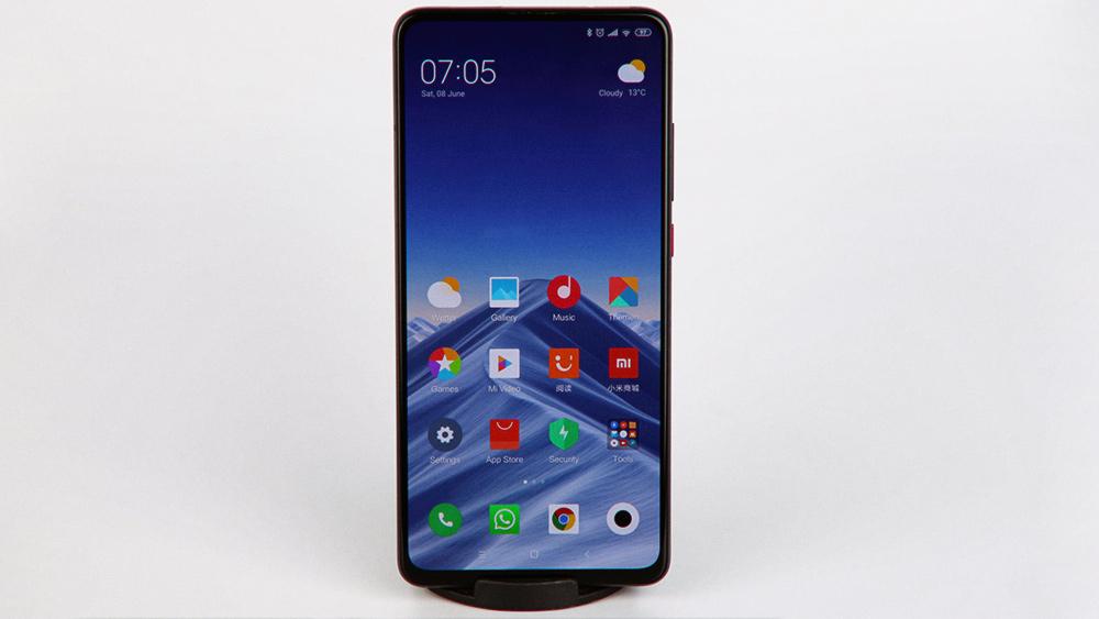 Xiaomi Mi 9T Pro: дисплей и сенсорный ввод