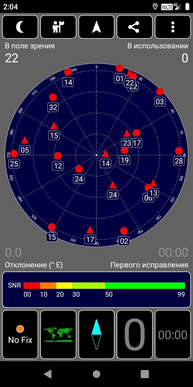 BQ-5530L Intense: тест GPS