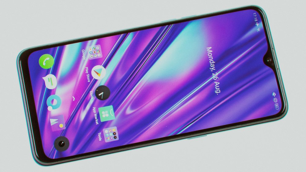 realme 5 Pro: дисплей и цветопередача