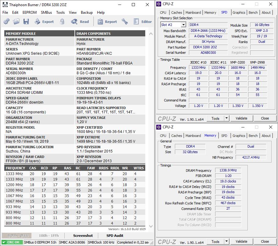 ADATA XPG Spectrix D80 DDR4-3200 RGB 2×16GB
