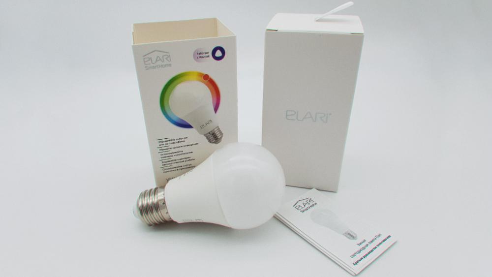 ELARI Smart E27 Multicolor LB