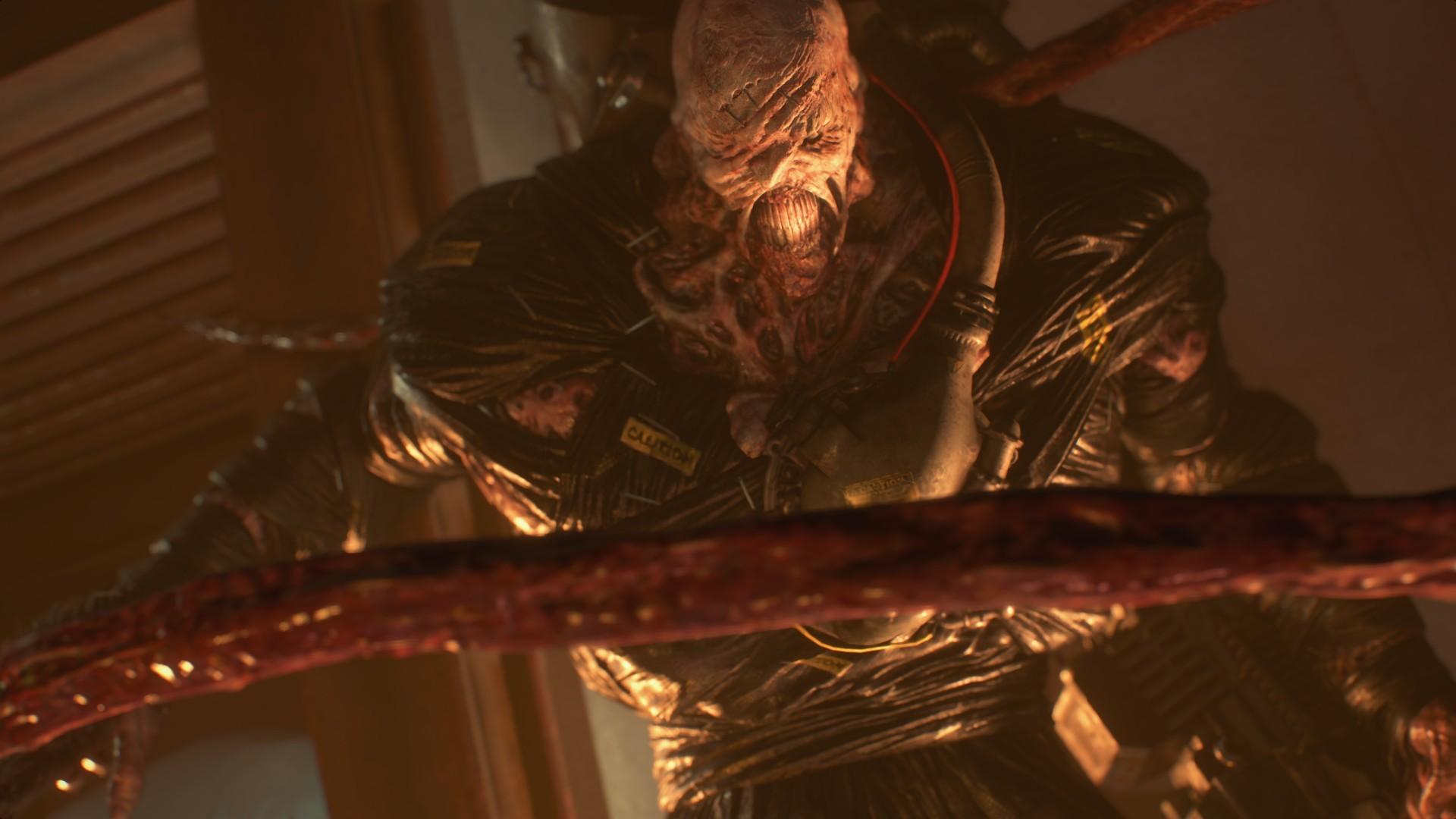 Resident Evil 3 Remake: Немезиc