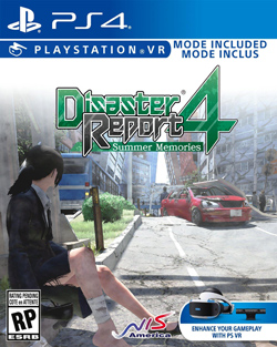 Disaster Report 4: Summer Memories (PS4 Box Cover)