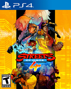 Streets of Rage 4 (PS4 Box Cover)