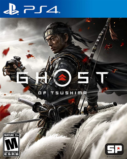 Ghost of Tsushima (PS4 Box Cover)
