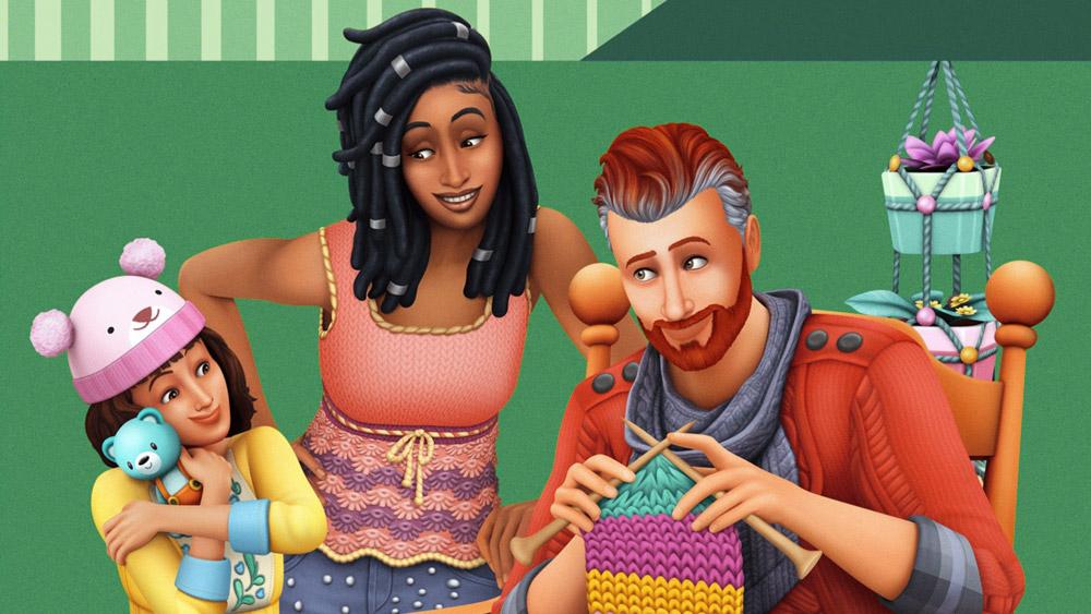 The Sims 4: Нарядные нитки