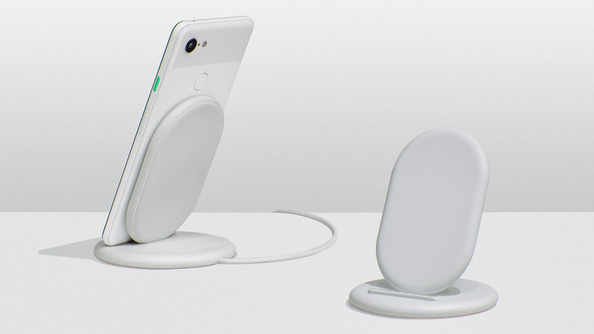 Беспроводная зарядка Google для смартфонов Pixel