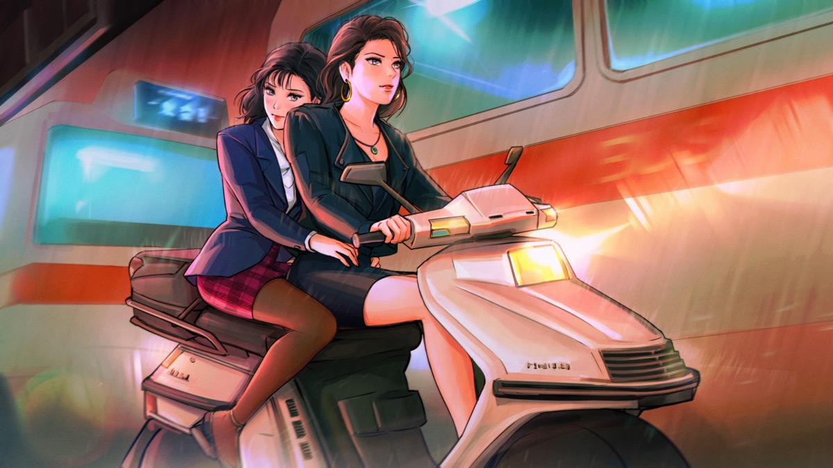 Визуальная новелла A Summer's End – Hong Kong 1986: Мишель и Саманта
