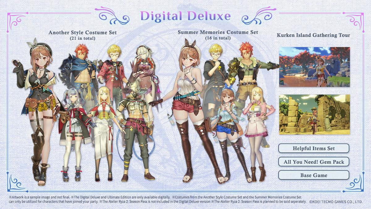 Atelier Ryza 2: Digital Deluxe Edition
