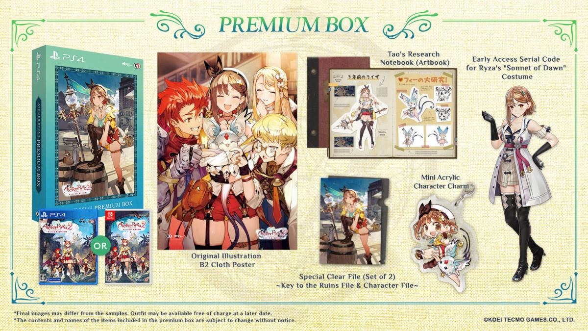 Atelier Ryza 2: Premium Box